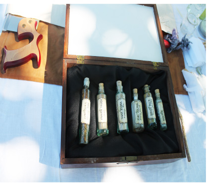 18th century medicine chest
